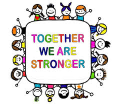 together we are stronger support photo